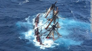 Tall Ship Bounty Photo by US Coast Guard
