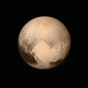 image by NASA Pluto's First Image